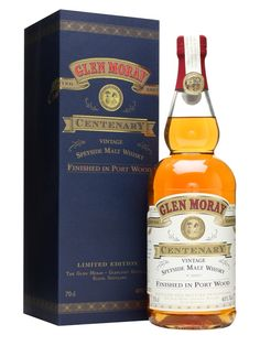 Glen Moray Centenary / Bot.1997 / Port Wood Finish Scotch Whisky : The Whisky Exchange