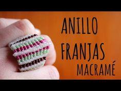 Anillo grande / ♥︎ Tutoriales de macramé | DIY | Paso a paso - YouTube