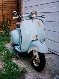 My 1964 Vespa VNB 125