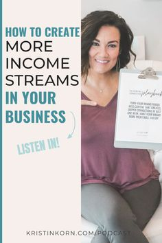 BRANDING BITES the PODCAST | EPISODE 34 with Kristin Korn  If you've ever considered adding another income stream to your business this episode is for you... diversify your streams of income with a digital product. LISTEN IN!  #branding #brandingtips #brandingstrategies #brandingpodcast #stayinyourlane #howtobrandyourself #digitalproduct Business Branding, Business Tips, Logo Design Tips, Brand Power, Work From Home Tips, Korn, Your Turn, Creative Thinking, Personal Branding