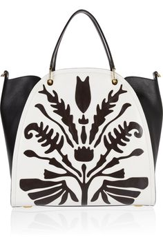 Maiyet | Peyton large laser-cut leather shopper