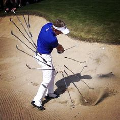 Helpful Golf Tips That Make You Better Golf Images, Golf Pictures, Luke Donald, Cool Photo Effects, Golf Channel, Golf Player, Life Problems, Try Harder, Bunker