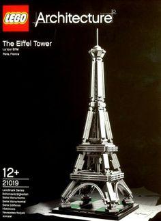 Brickstoy: Lego 21019 Architecture Eiffel Tower Released