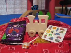 Scrappin' Kristi - Close To My Heart Independent Consultant and Paper Crafter: Thomas The Train Birthday Party