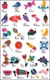 Výsledek obrázku pro easy quilling designs for children