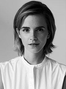 Embajadora de buena voluntad de ONU Mujeres Emma Watson. Foto: Carter Bowman.