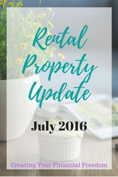 Take a look at the newest update from my rental property. I share the real numbers and the real facts. Take a look!