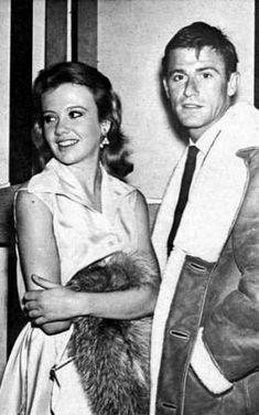 Hayley Mills with Roddy McDowall.