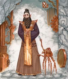 Dwemer (The Elder Scrolls) by PlumpOrange