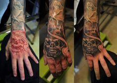 #Luca_IronBrush_tattoo_Tirana