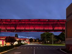 Nestlé Chocolate Museum by Metro. Located beside a highway between São Paulo and Rio de Janeiro, the bright red Nestlé Chocolate Museum is visible to passing traffic.