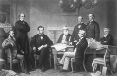 Emancipation Proclamation is read by Abraham Lincoln to his cabinet (for the first time) on July 22,1862. The proclamation is justifiably celebrated as a significant step toward the goal of ending slavery and making African Americans equal citizens of the United States (The 13th Amendment of the constitution ratified December 1865 OFFICIALLY abolished slavery).