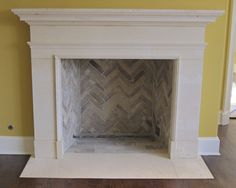 Latest Screen wooden Fireplace Hearth Ideas Limestone Fireplaces, Stone Mantles in Texas Limestone, Fireplace surrounds and … Fireplace Pictures, Herringbone Fireplace, Fireplace Hearth, Freestanding Fireplace, Farmhouse Fireplace, Wooden Fireplace, Faux Fireplace
