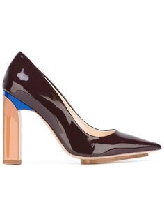 Shop Delpozo pointed toe pumps in Bernardelli from the world's best independent boutiques at farfetch.com. Shop 400 boutiques at one address.