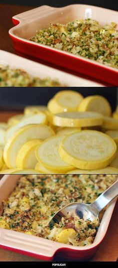 A 100-year-old squash casserole recipe receives a makeover