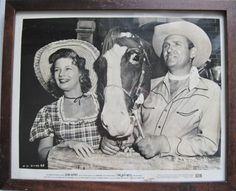 Original Vintage Hollywood Print 52/8 Gene Autry by CrystalCoaster
