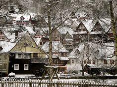 https://flic.kr/p/wRxefg | Schiltach - Schwarzwald - Winter in the Black Forest