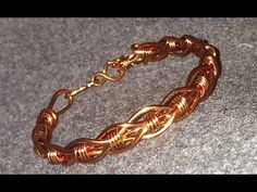 Tutorial twisted copper ring - How to make wire jewelry 72 - YouTube