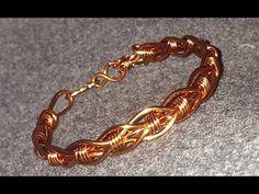 DIY - How to make handmade jewelry - wire bracelet - Hướng dẫn làm vòng tay…