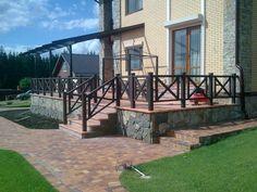 Купить деревянные ограждения для балконов и террас, каталог террасных и балконных ограждений