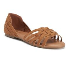 Candie's+Women's+Two-Piece+Huarache+Sandals
