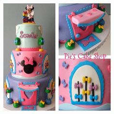 Perfect to place on top of 2 tier or bigger birthday cake. Just add water to the backs to glue them onto cakes  This listing includes, all can be