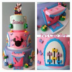 Minnie's Bowtique Fondant decor set Cake decor and by PiesCakeShop