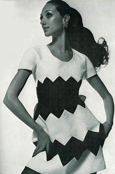 Valentino, Vogue Italia 1969