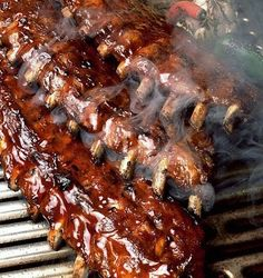 Listing of the answers to the question: How do you make perfect BBQ ribs? Been thinking of BBQ ribs for the past several weeks. Any tips or tricks to make BBQ ribs perfect? Rib Recipes, Grilling Recipes, Cooking Recipes, Smoker Recipes, Barbecue Recipes, Grilling Ideas, Tailgating Recipes, Recipies, Weber Bbq Recipes