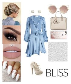 """""""💗Bliss💗"""" by dreamerz-dream-on ❤ liked on Polyvore featuring Zimmermann, Pinup Couture, HaveBest, MANGO and Casetify"""