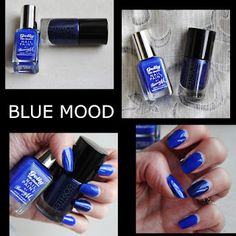 MichelaIsMyName: NOTD // Barry M - CATRICE | Blue Mood