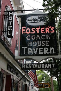 Foster's Coach House Tavern......Rhinebeck NY.. My parents went here when they were dating.. OVER 40 years ago~