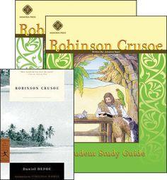Robinson CrusoeSet (13-14-15-16-17Y) [Comprehension] [Vocabulary] [Spelling] [Composition] [Grammar] [Literature]