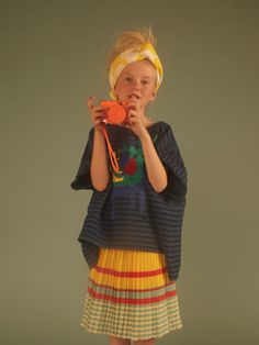 Série mode : Chloé | MilK - Le magazine de mode enfant, girls fashion, kids editorial, stripes