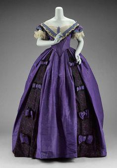 Dress - 1860s - The Museum of Fine Arts, Boston
