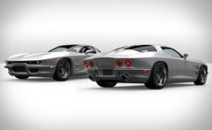 rossi sixty-six. Based on a new C6 Corvette and redone with a modern interpretation how a new corvette stingray would look if it was produce today