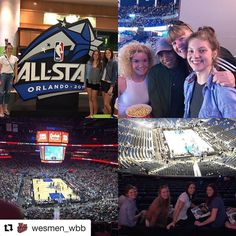@wesmen_wbb Enjoyed some @NBA action @orlandomagic! Back in action at Palm Beach State College tourney.