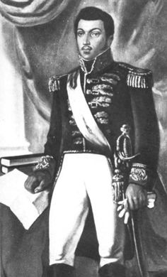 Alexandre Sabès Pétion (April 2, 1770 – March 29, 1818) was the first President of the Republic of Haiti from 1807 until his death in 1818. He is considered as one of Haiti's founding fathers, together with Toussaint Louverture, Jean-Jacques Dessalines, and his rival Henri Christophe. Pétion was born in Port-au-Prince to a Haitian mother and a wealthy French father.