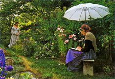 Keep active! Continue in artwork and writing,walking and planting! Tasha Tudor,...