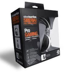 Headphones - SteelSeries Siberia V2 Full-Size Gaming Headset (White)
