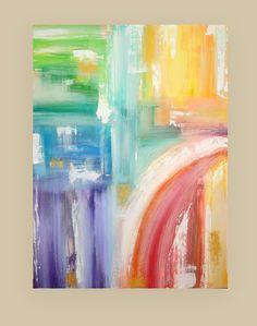 Abstrait peinture originale sur toile Galerie par OraBirenbaumArt