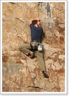 10 Rock Climbing Tips and Techniques - links to other tips for beginners and stuff too!