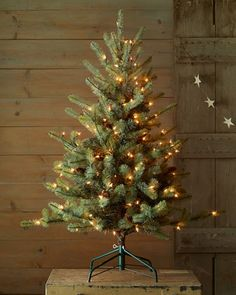 """#HorchowHoliday14 Blue Spruce 54"""" Artificial Christmas Tree by Park Hill Collections at Horchow. #HorchowHoliday14"""