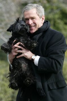 President George W. Bush's dog Barney dies - Animal Tracks