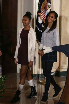 First Daughters: Sasha and Malia Obama