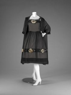Evening ensemble | House of Dior | French | 1955 | silk | Indianapolis Museum of Art | Accession #: 1991.30