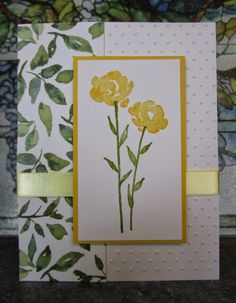 HEARTWARMERS FROM VICKI: STAMPIN' UP! PAINTED PETALS