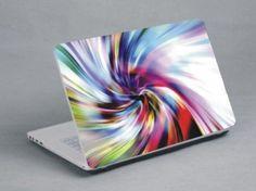 Spiral laptop skin www.expresswallsuk.co.uk
