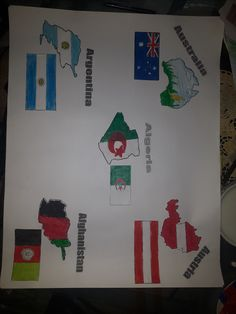 Countries & Flags