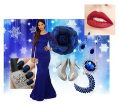"""""""publish set"""" by elviramazic ❤ liked on Polyvore featuring OPI, Jouer, Jimmy Choo, Bling Jewelry and Adoriana"""